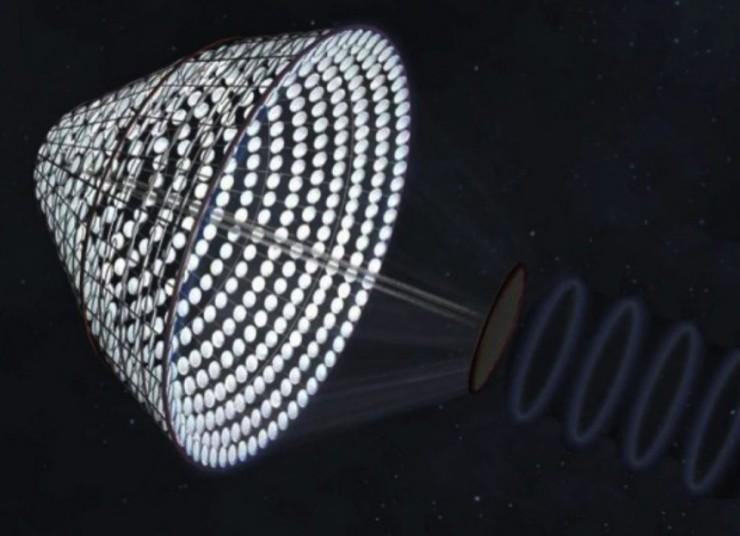 NASA quiere construir planta de energía solar en el espacio